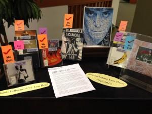 Lou Reed Display