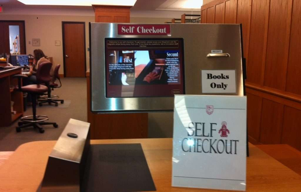Try our Self Check-out for Books