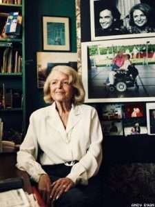 Edith Windsor, the plaintiff in the DOMA case seals her place in history.