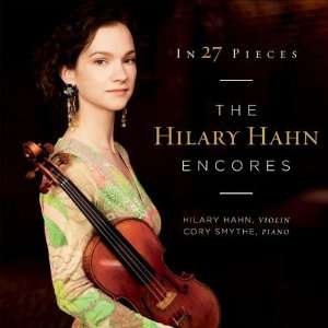 Hilary Hahn Album Art