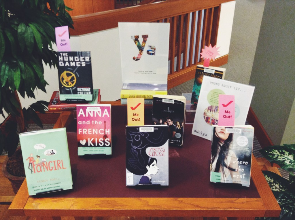 Young Adult Literature Display