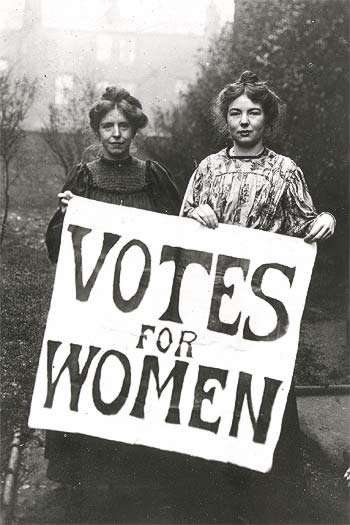 https://thepinkflamingo3.files.wordpress.com/2008/09/votes-women.jpg Christabel Pankhurst and Annie Kenney were two very prominent suffragists in the early 1900s. Thanks in large part to their work, the 19th amendment passed, and women have the right to vote.