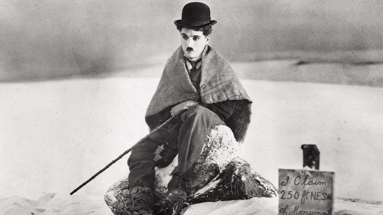 "Charlie Chaplin in ""Gold Rush"""