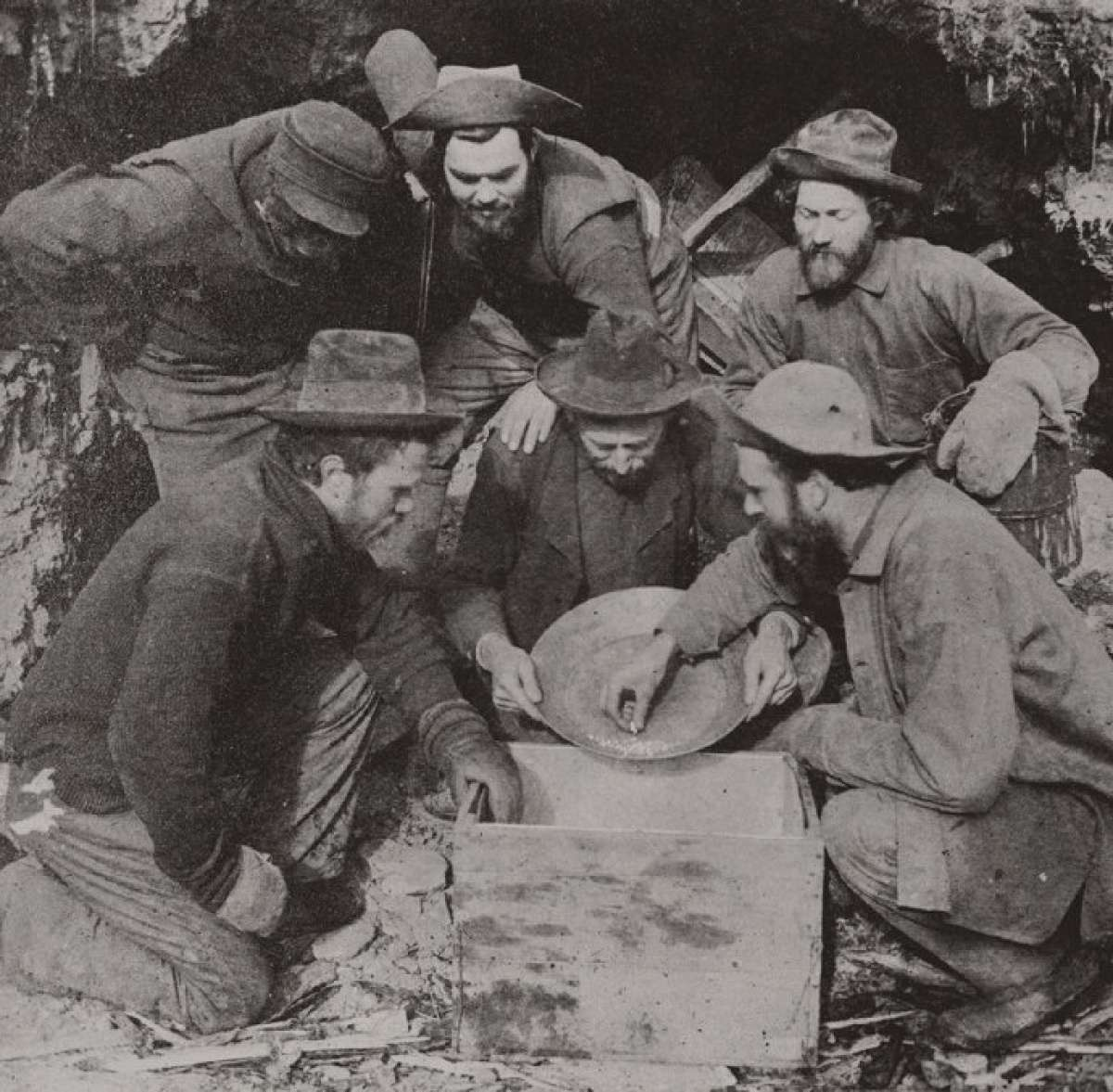 Miners in the Klondike Gold Rush