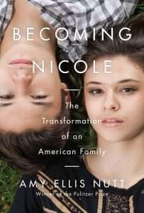 Book cover of Becoming Nicole by Amy Ellis Nutt
