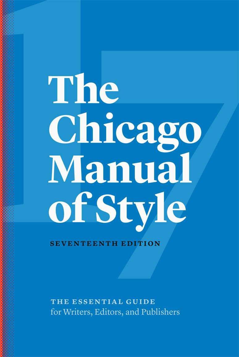 chicago manual of style book citation Cite fast via free chicago book citation generator chicago citation first printed in 1906 by the university of chicago press, the chicago manual of style is.